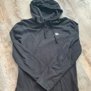 Nike hooded long sleeve